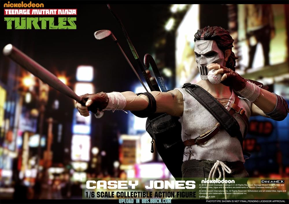Tmnt Casey Jones 1 6 Scale Figure