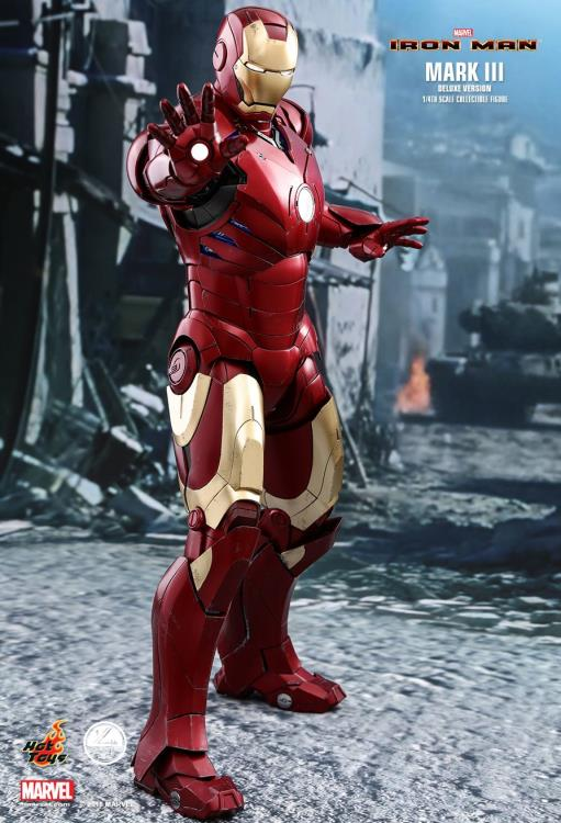 Iron Man QS012 Mark III (Deluxe) 1/4th Scale Collectible Figure