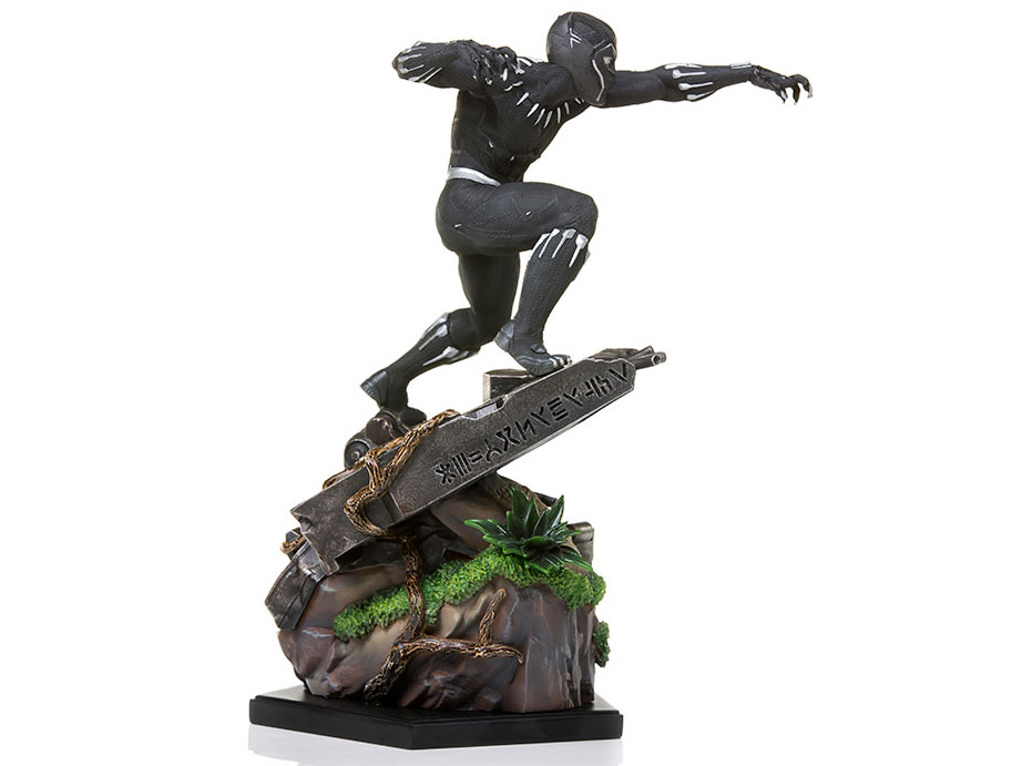 Black Panther Battle Diorama Series Black Panther 1/10 Art Scale Statue