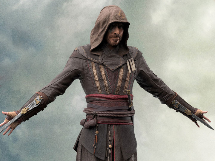 assassin 39 s creed 1 5 scale aguilar statue. Black Bedroom Furniture Sets. Home Design Ideas