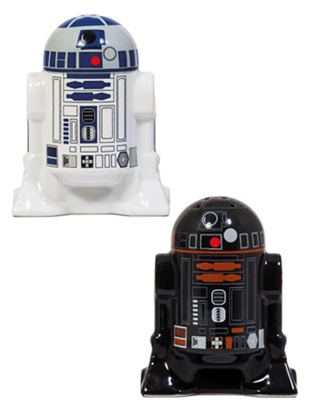 Star Wars Droids Salt & Pepper Shakers