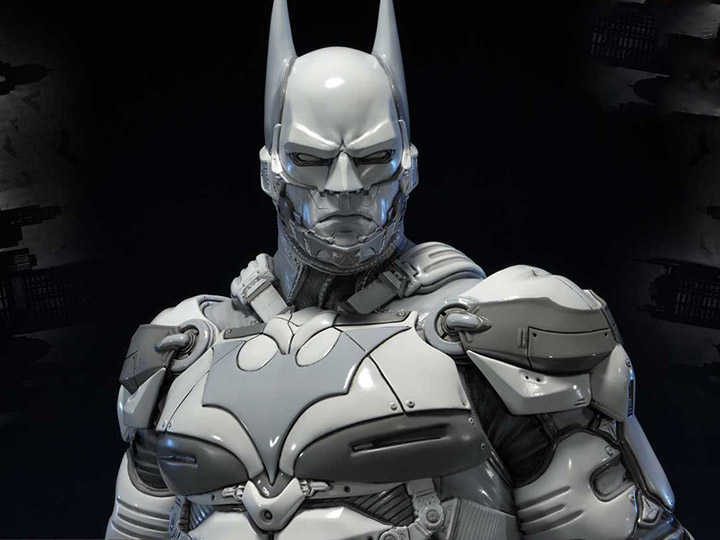 Batman Arkham Knight Museum Masterline Batman Beyond White