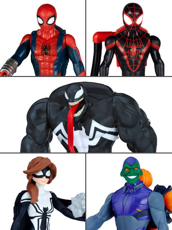 "Marvel Spider-Man 6"" Quick Shot Set of 5 Figures"