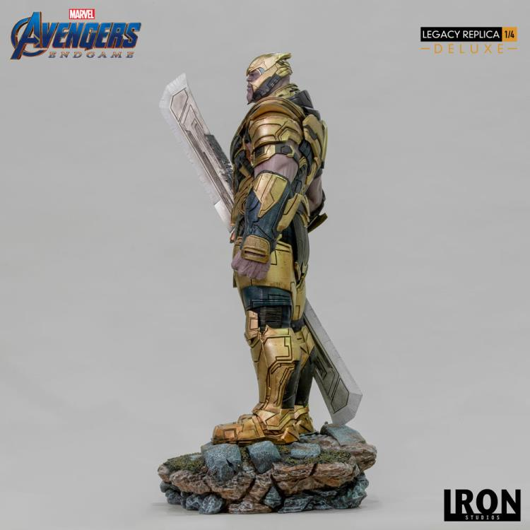 Avengers: Endgame Legacy Replica Thanos Deluxe 1/4 Scale Limited Edition Statue