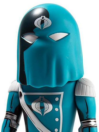 Transformers vs. G.I. Joe Cobra Commander Limited Edition Art Figure