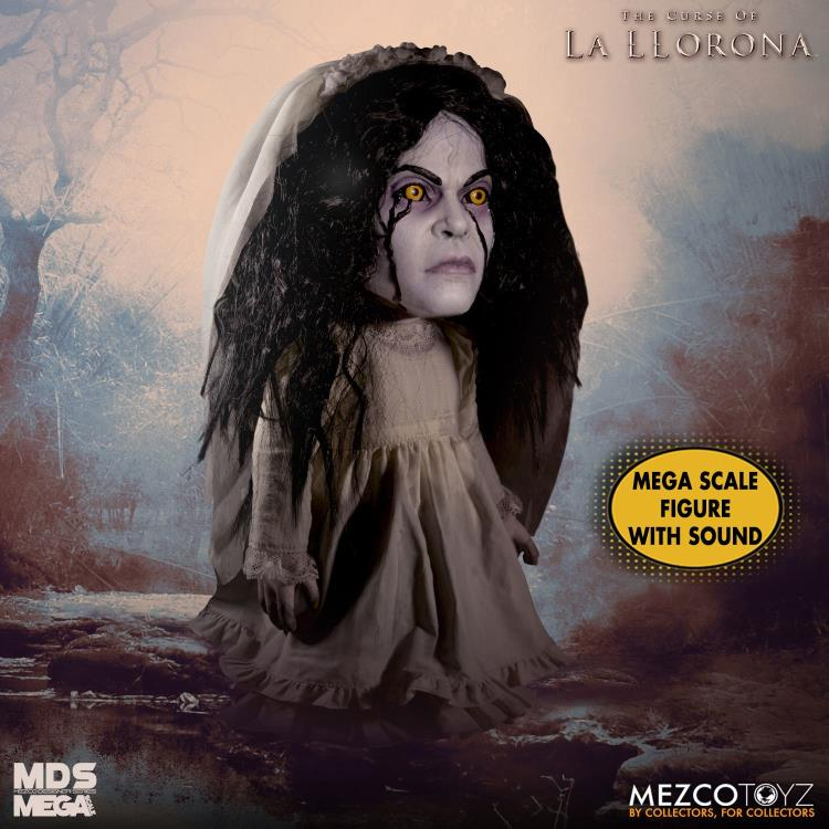 The Curse of La Llorona Mezco Designer Series Mega Scale Talking La Llorona