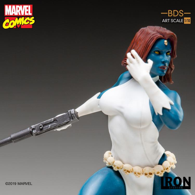 Marvel Comics Battle Diorama Series Mystique 1/10 Art Scale Limited Edition Statue