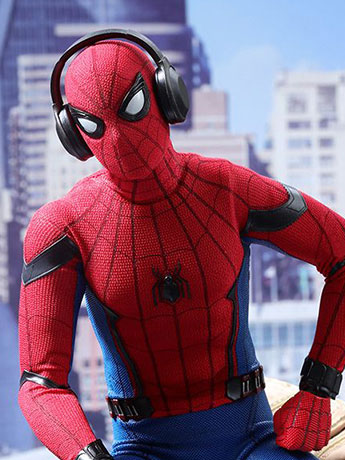 Spider-Man: Homecoming MMS425 Spider-Man 1/6th Scale Collectible Figure
