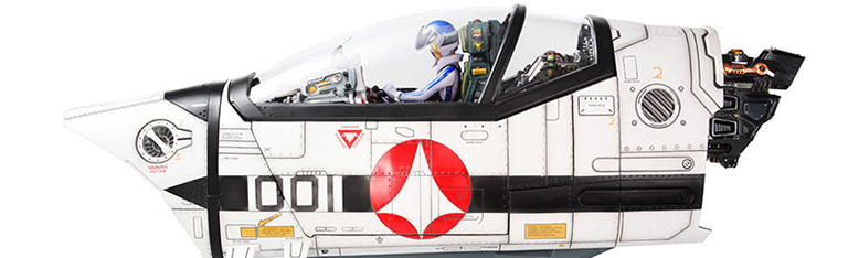 Macross VF-1S Cockpit With Roy Fokker 1/6 Scale Limited Edition Diorama Digital Sound System