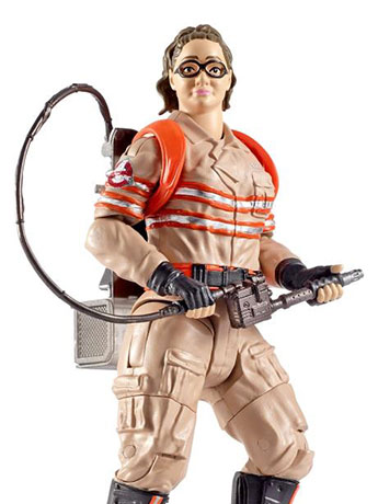 Ghostbusters 2016 Movie Elite Abby Yates Figure