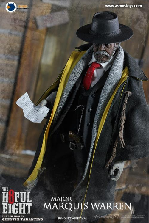 The Hateful Eight Major Marquis Warren 1/6 Scale Figure