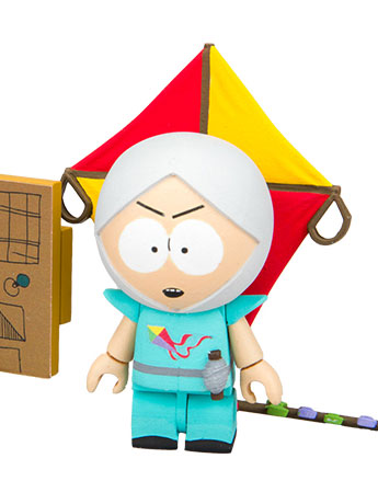 "South Park Micro Construction Set - ""The Human Kite"" Kyle With Supercomputer"