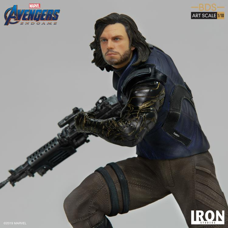 Avengers: Endgame Battle Diorama Series Winter Soldier 1/10 Art Scale Limited Edition Statue