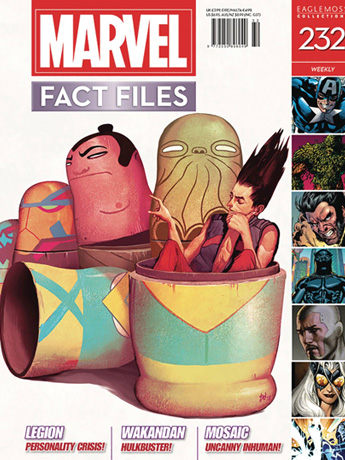 Marvel Fact Files #232