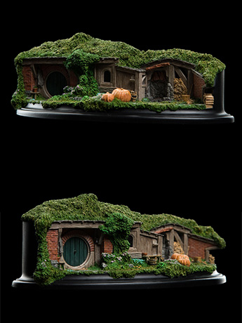The Hobbit: An Unexpected Journey 19 & 20 Pine Grove Hobbit Hole Diorama