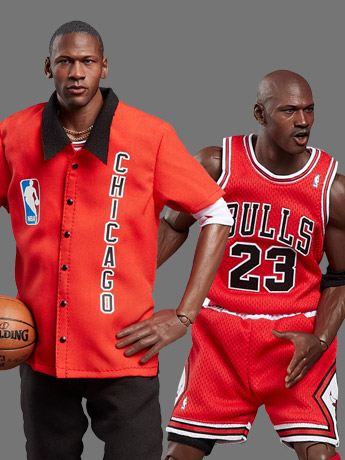 NBA Real Masterpiece Michael Jordan (Away) 1/6 Scale Final Limited Edition Figure