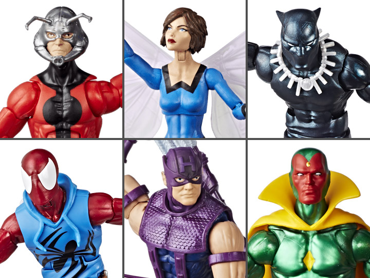 Marvel Legends Vintage Wave 2 Set of 6 Figures
