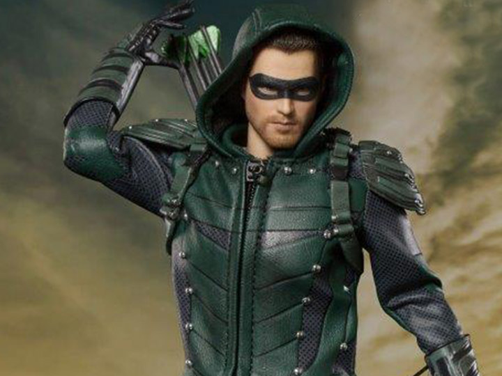 arrow tv series real master series green arrow deluxe 1 8 scale