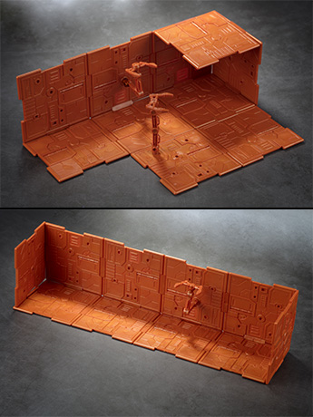 Iron Deck Base & Background Panels (Orange)