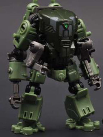 Multiabyss V-Link Mecha Defender + Construction (Green) 1/60 Scale Model Kit