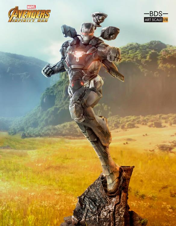 Avengers: Infinity War Battle Diorama Series War Machine 1/10 Art Scale Statue
