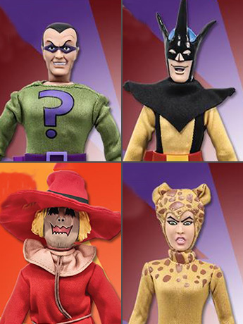 "Super Friends Hall of Doom Battle Pack 8"" Retro Figure Four Pack #2 BBTS Exclusive (LE 25)"