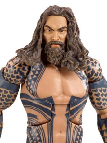 Justice League Multiverse Aquaman (Collect & Connect Steppenwolf)