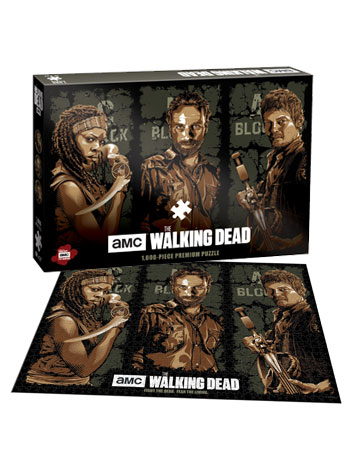 The Walking Dead AMC Series Premium Puzzle Fight the Dead. Fear the Living
