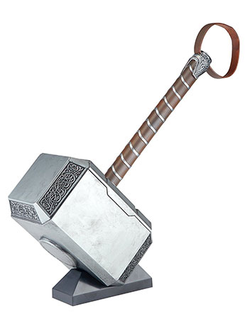 Marvel Legends Series Mjolnir Electronic Hammer