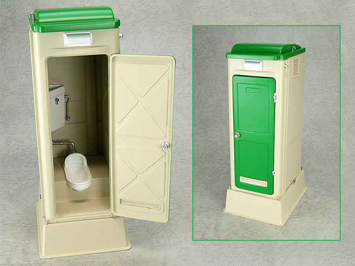 Mabell original miniature model series 1 12 scale portable toilet