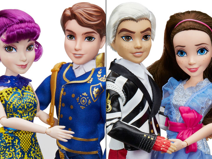 Product Image Disney Descendants 2 Set Of Fashion Doll Two Packs
