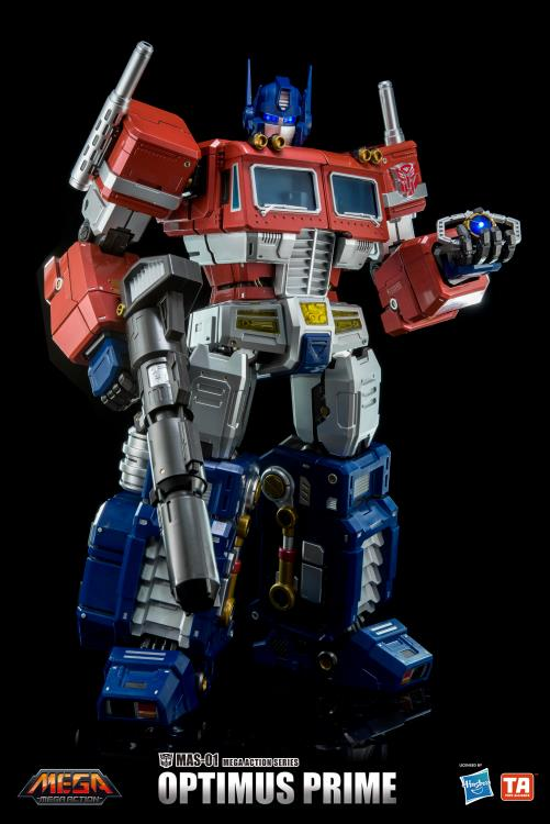 Best Transformers Toys And Action Figures : Transformers mas optimus prime mega action figure