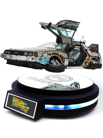 BTTF2 Levitating DeLorean Time Machine