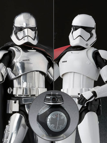 Star Wars S.H.Figuarts Captain Phasma & First Order Stormtrooper Special Set (The Last Jedi)
