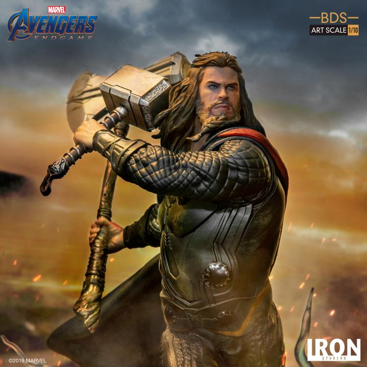 Avengers: Endgame Battle Diorama Series Thor 1/10 Art Scale Limited Edition Statue