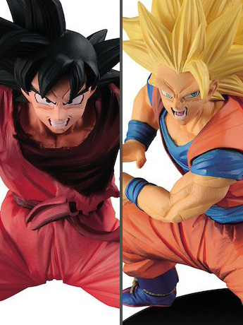 Dragon Ball Super FES!! Stage 3 Super Saiyan 3 Goku & Kaio-ken Goku Set