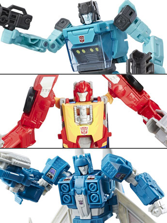 Transformers Titans Return Deluxe Wave 6 Set of 3