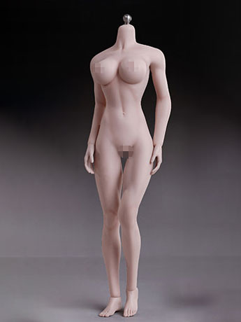 Super-Flexible 1/6 Scale Seamless Female Body 5th Generation (Pale Large Bust)