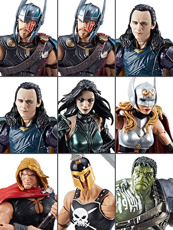 Thor Marvel Legends Wave 1 Case of 8 (Hulk BAF)