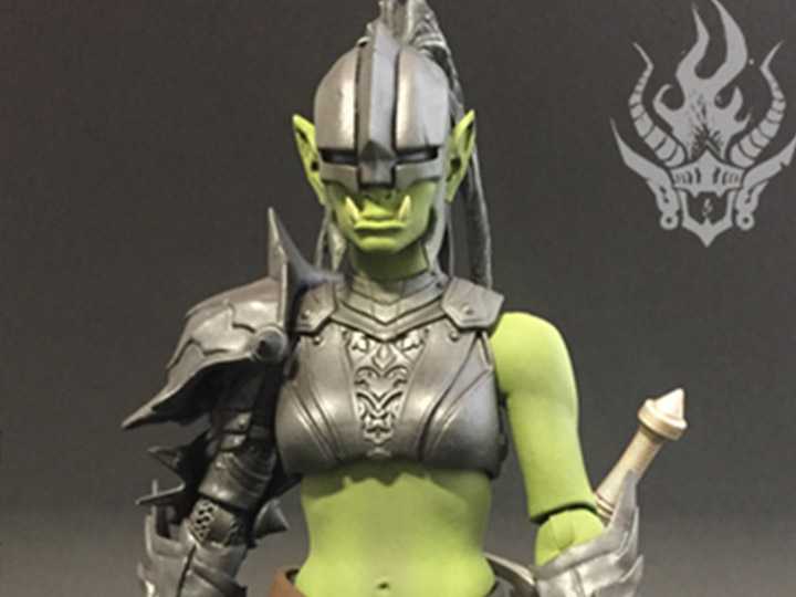 Mythic Legions Advent of Decay Orc Legion Builder 2