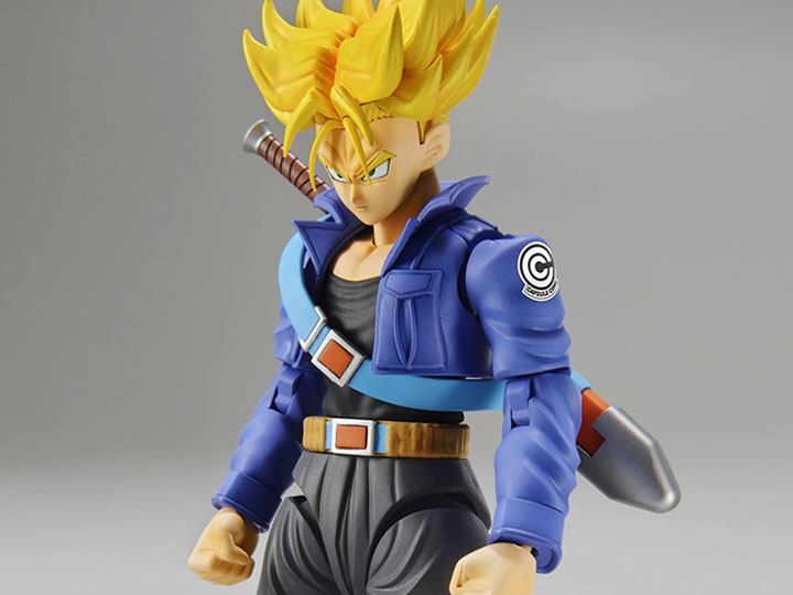 dragon ball z figure rise standard super saiyan trunks