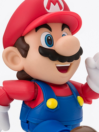 Super Mario Brothers S.H.Figuarts Mario (New Package Ver.)