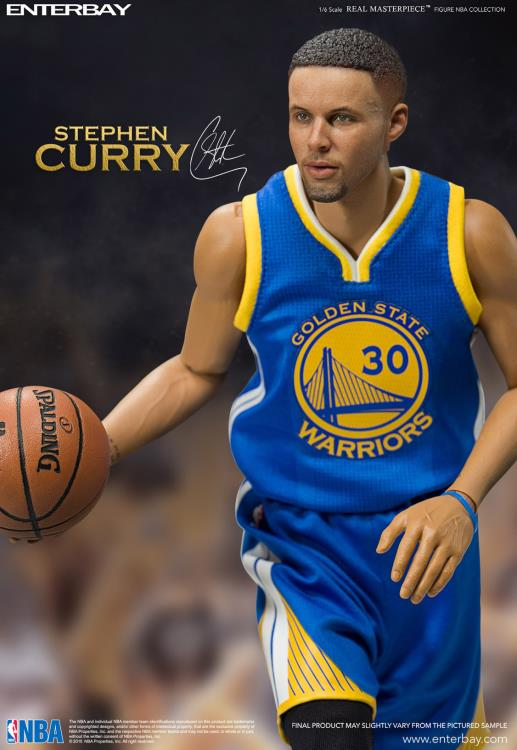 NBA Real Masterpiece Stephen Curry 1/6 Scale Figure 2nd Edition
