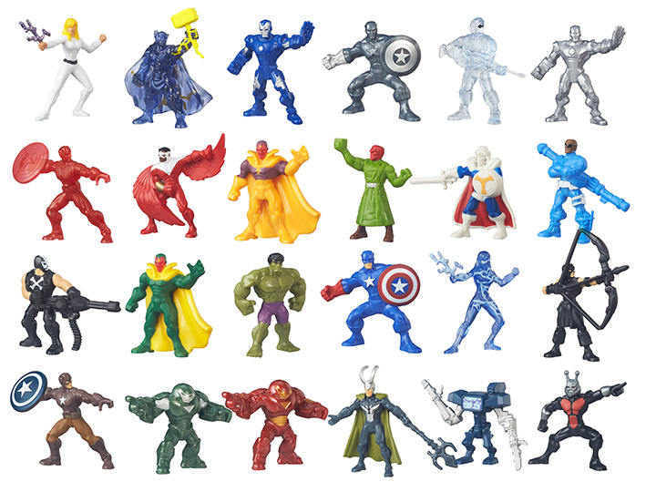 Marvel 500 Micro Figure Series 04 Box Of 24