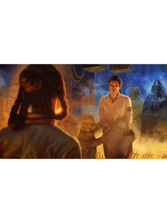 Star Wars I Know SDCC 2018 Exclusive Giclee