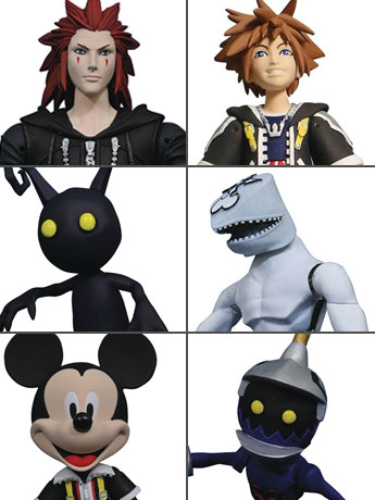 Kingdom Hearts Select Wave 1 Set of 2