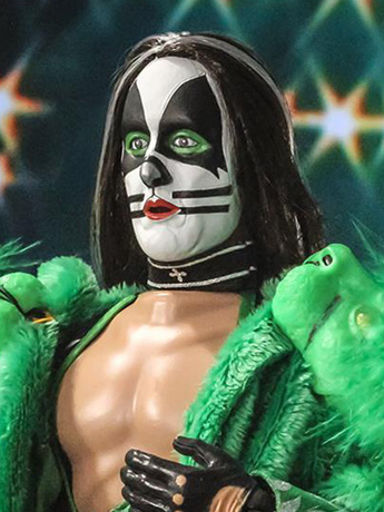 "KISS Dynasty The Catman 12"" Retro Figure"