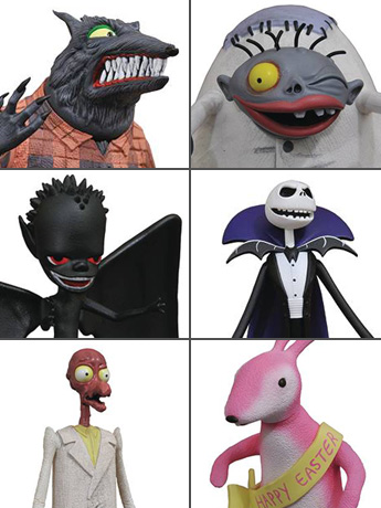 Nightmare Before Christmas Select Series 5 Set of 3