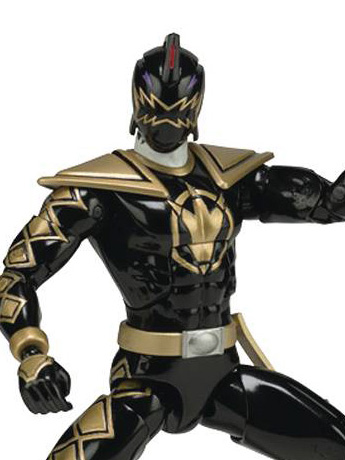 "Power Rangers Dino Thunder Legacy 6"" Black Ranger"
