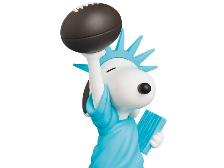 Peanuts Ultra Detail Figure Statue of Liberty Snoopy